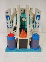 ORIGINAL Vintage 2014 Mattel Imaginext Hall of Justice League Playset - $23.01