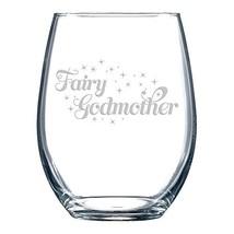 Fairy Godmother - Stemless Wine Glass - $18.83