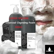 US LOHA LARGE-VOLUME Charcoal Cleansing Foam 500ml Moisturizing Keratin ... - $30.68