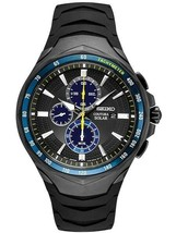 Seiko Men's Solar Coutura Jimmie Johnson Special Edition Chrono Watch SS... - $296.99