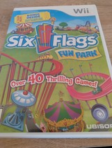 Nintendo Wii Six Flags Fun Park image 1