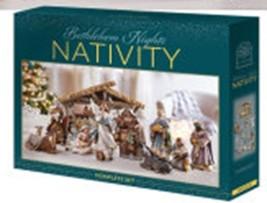 Bethlehem Nights Deluxe Nativity Set image 2