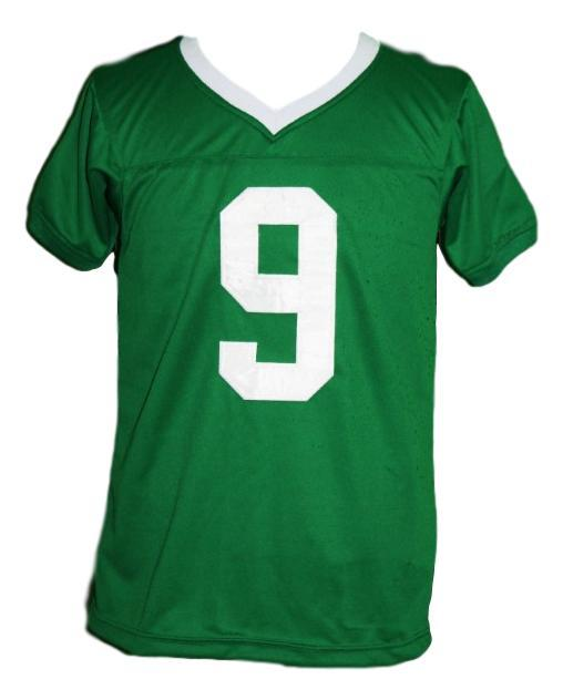 Lebron james  9 irish high school football jersey green   1