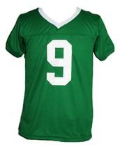 Lebron James #9 Irish High School New Men Football Jersey Green Any Size image 1