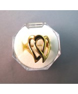 Park Lane Retired Entwined Hearts Ring 18k Gold Plated USA Size 6 Hostes... - $16.82