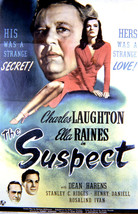 Charles Laughton and Ella Raines in The Suspect 16x20 Canvas Giclee - $69.99