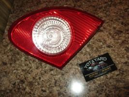 09-10 TOYOTA COROLLA PASSENGER RIGHT TRUNK TAIL LIGHT YOTA YARD - $64.35