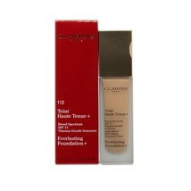 Clarins Everlasting Foundation + Spf 15 Sunscreen 30 ML/1.1 Oz. #112 - Amber - $34.16
