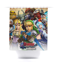 Legend of Zelda: Hyrule Warriors Shower Curtain - $29.99+