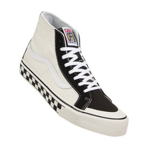 VANS SK8 HI 138 DECON MEN SHOES BLACK/WHITE CHECKER *N0A3MV1R34 SIZE 9.5... - £60.96 GBP