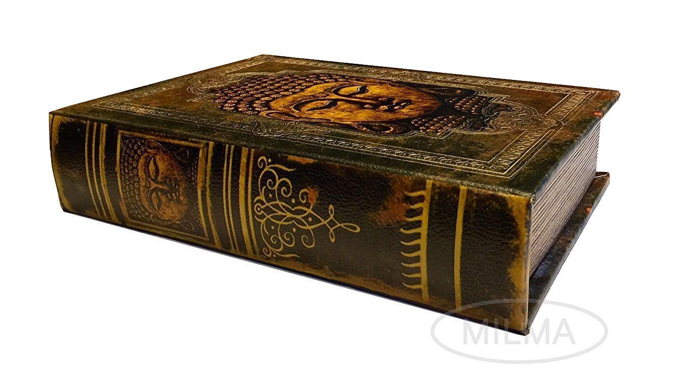 Buddha Book Stash Box Decorative Leather And 50 Similar Items