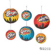 Super Hanging Paper Lanterns - £11.76 GBP