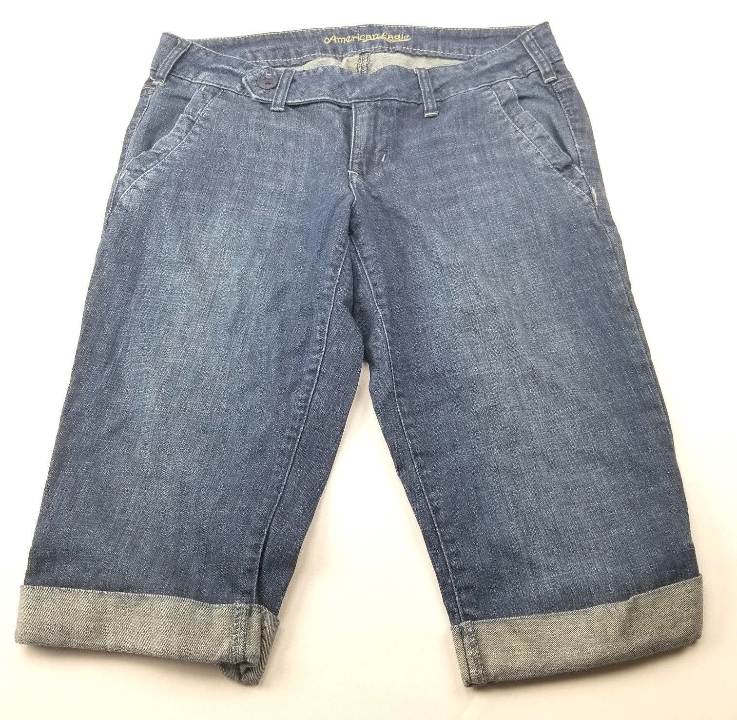 American Eagle Womens Jeans Shorts Size 8