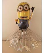 5 Minion Table CenterPieces Birthday Foil Balloons Decorations Favors Pr... - $28.04