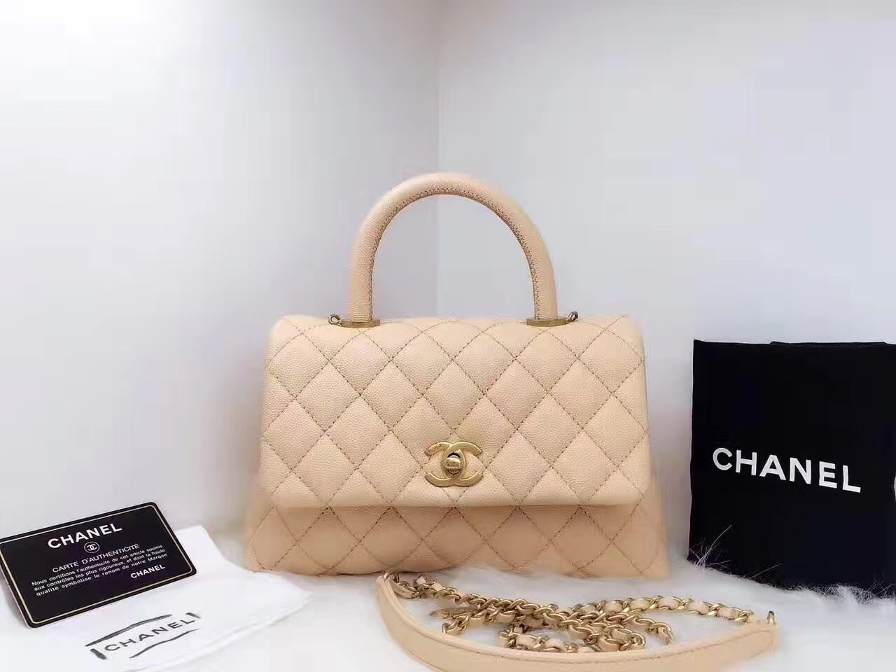 f9d6f4a8c772 100% Authentic Chanel 2017 Caviar Quilted and 50 similar items