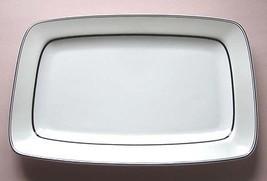 """Lenox Simply Fine Voila Rectangular Platter Large 14.75"""" New - $46.90"""