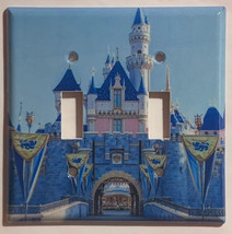 Sleeping beauty castle Light Switch Outlet Toggle wall Cover Plate Home Decor image 4