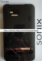 SONIX Shell for HTC THUNDERBOLT Black HARDSHELL COVER Durable Rubber Coa... - $6.91