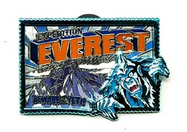 Disney WDW Expedition Everest Beware of the Yeti Trading Pin - $19.76