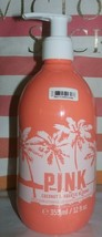 NEW VICTORIA'S SECRET PINK COCONUT AQUATIC BLOOMS BODY LOTION HAND CREAM... - $19.70