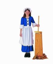 Forum Nouveautés Colonial Servante Fille Pilgrim Enfants Déguisement Hal... - $23.09
