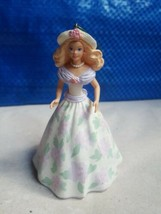 "HALLMARK 1995 BARBIE ""Springtime Barbie"" Ornament 1st in Easter Series w... - $9.05"