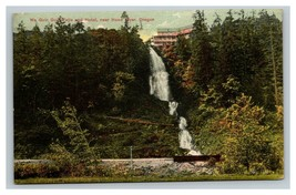 Vintage Early 1900's Wau Guin Falls & Hotel Hood River Oregon POSTED - $15.81