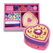 Melissa & Doug Decorate-Your-Own Wooden Heart Box Craft Kit - $9.68