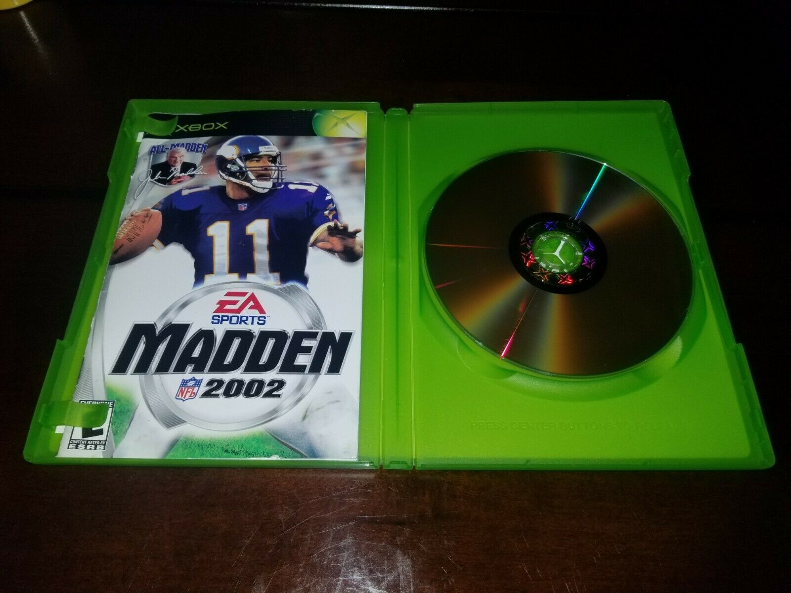 Madden NFL 2002 Microsoft Xbox EX **Inv03173**