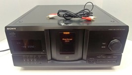 Sony CDP-CX235 Multi CD Player w/ Cables Tested & Working SEE VIDEO No Remote - $116.40