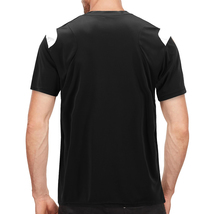 Men's Gym Workout Sport Two Tone Running Performance Quick-Dry T-shirt image 3