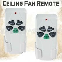 2 For Hampton Bay Harbor Breeze Fan Remote Control KUJCE9103 FAN-11T UC7... - $29.95