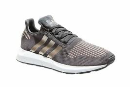 Adidas Swift Run J Women's Running Gray(CQ2598)Various Size - $59.99