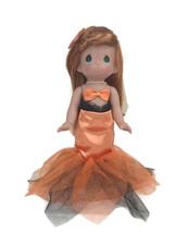 Precious Moments Disney Parks Exclusive Ariel Mermaid Orange Halloween 1... - $37.36