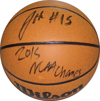 Jahlil Okafor signed Wilson NCAA Indoor/Outdoor Basketball 2015 NCAA Champs #15