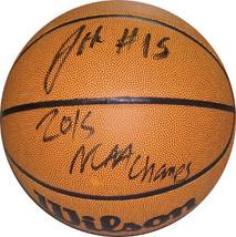 Jahlil Okafor signed Wilson NCAA Indoor/Outdoor Basketball 2015 NCAA Cha... - $98.95