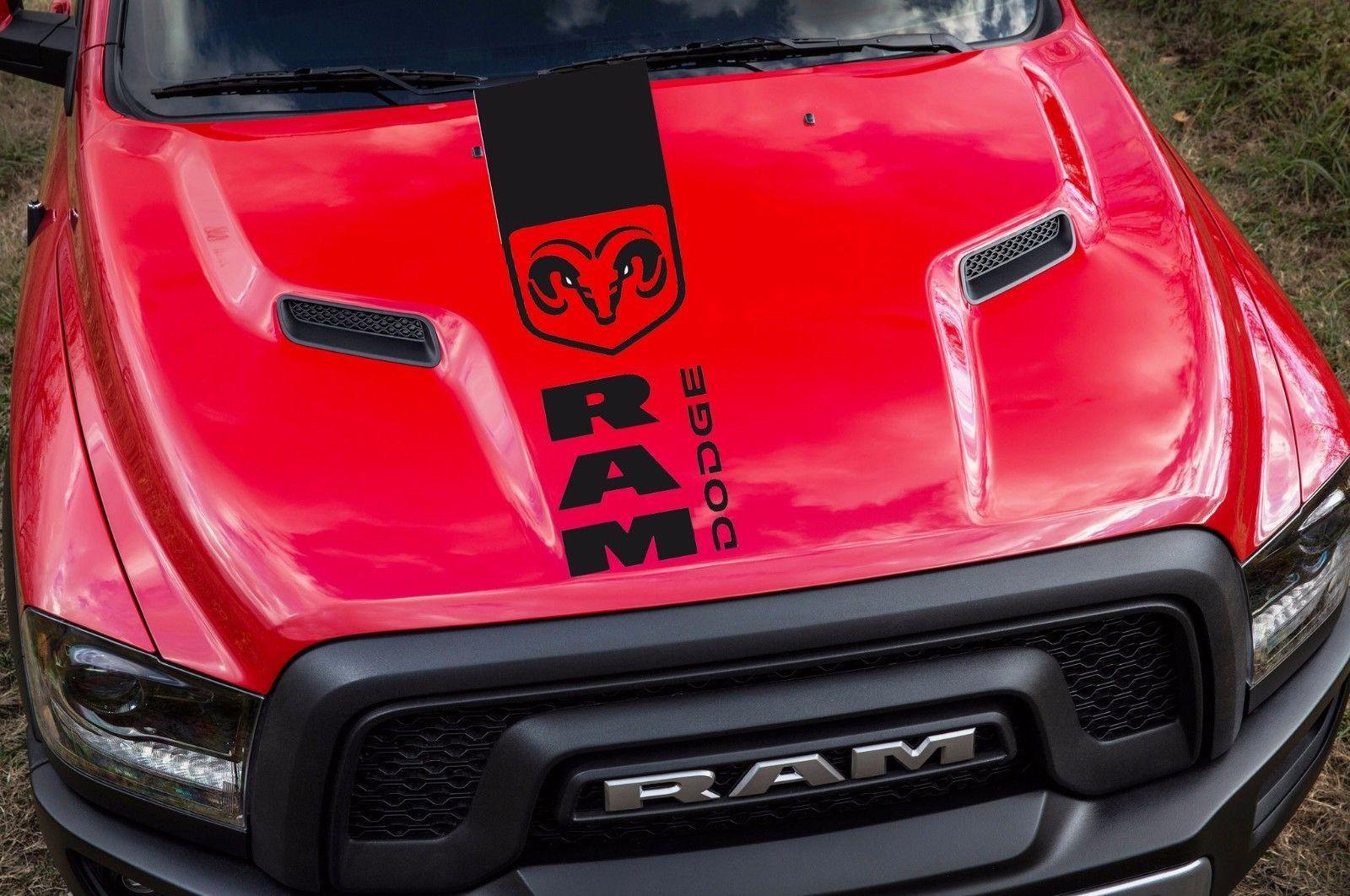 tribal muscle dodge sticker decals p decal ram man vinyl