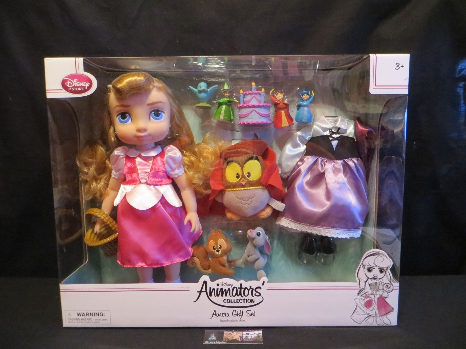 Primary image for Disney Store Authentic Aurora Doll Gift Set Sleeping Beauty Animators Collection