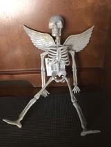 Halloween Angel Wings Hanging Skeleton - £6.13 GBP