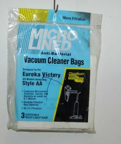 Dust Vacuum Corp Micro Lined Anti Bacterial Vacuum Cleaner Bags Style AA