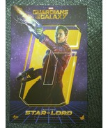 HOTTOYS Figure Movie Masterpiece Guardians of the Galaxy Star Lord  - $407.88