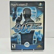 Agent Under Fire James Bond 007 (Sony PlayStation 2, 2002) PS2 Complete - $7.70