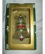 Pfaltzgraff Winterberry Silver Bell Ornament - $7.80