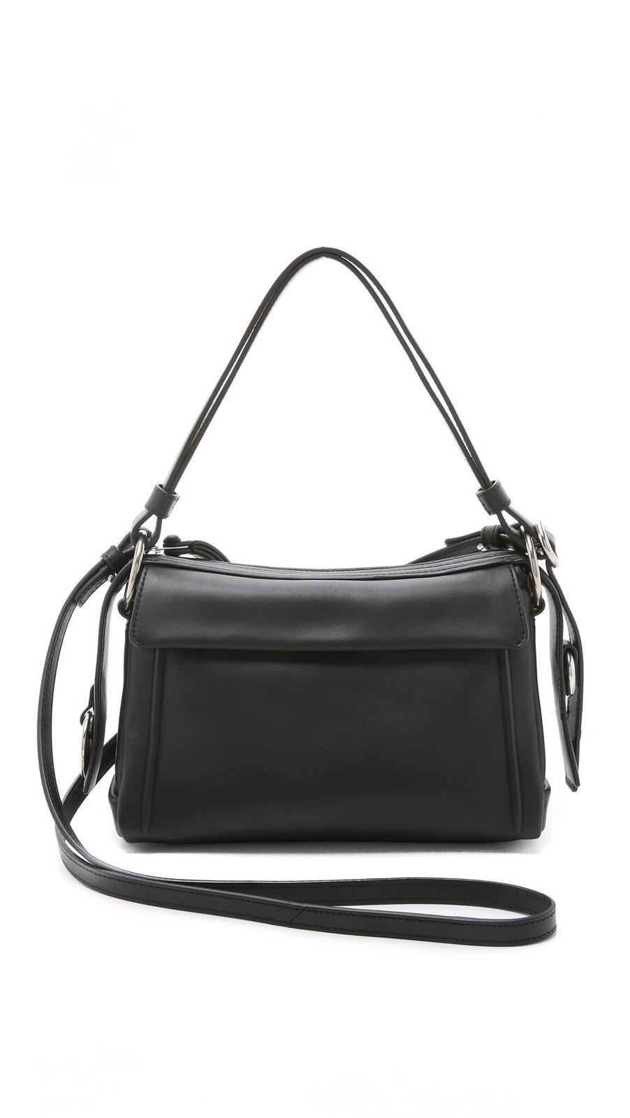 Marc by Marc Jacobs Prism 24 Satchel Convertible Shoulder Bag, Black, One Size