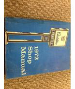 1972 CADILLAC ELDORADO SEVILLE Repair Shop Workshop Service Manual OEM F... - $23.75