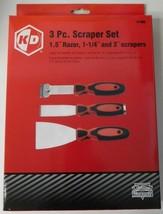 """KD Tools 41900 3 Piece Scraper Set 1.5"""" Razor, 1-1/4"""" and 3"""" Scrapers - $13.86"""
