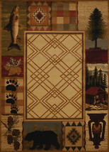 United Weavers Affinity Mountain Lake Natural Runner Rug  1'11'' X 7' 4'' - $49.00