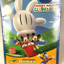 Crayola Disney Mickey Mouse Clubhouse Giant Coloring Pages 2009 20 scenes - $18.01