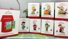 HALLMARK Snoopy Happiness All Year long Peanuts ornaments 6 new - $26.77