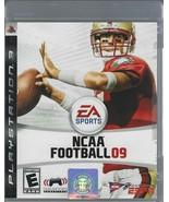 NCAA Football 09 - Sony PlayStation 3 PS3 (Disc + Manual) EA Sports - $4.99
